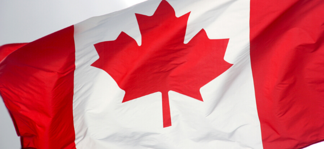 Picture: The Canadian Flag - Link to [Webinar Replay] One Year Later - Navigating Canada's Trademark Law Changes